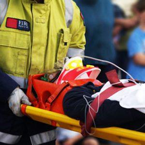 อุปกรณ์เคลื่อนย้ายผู้บาดเจ็บ กระดูกคอและหลัง