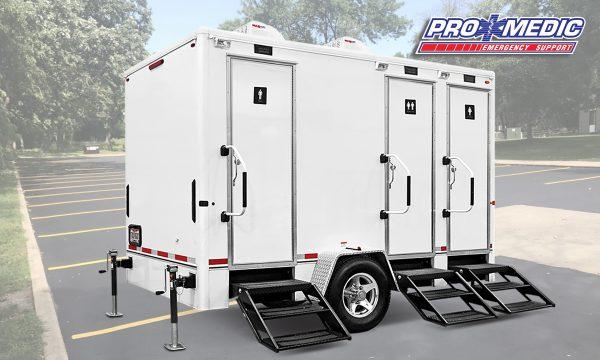 Mobile Toilet Truck